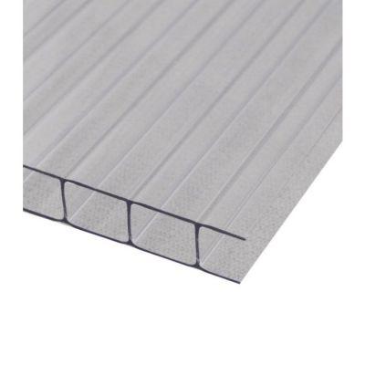 10mm Polybat®, 2 Pareti, Trasparente + Protezione UV 1050 x 2000 mm