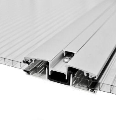 Profilo H in Alluminio - 4-12mm