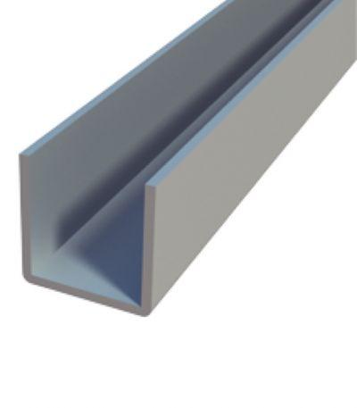 Profilo U in Alluminio - 10mm